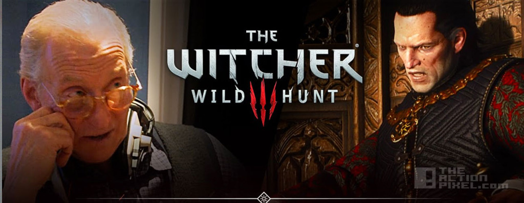 the witcher 3: wild hunt. Charles Dance. CD Projekt Red. The action pixel. @theactionpixel