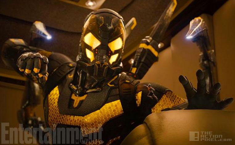 yellowjacket. antman. marvel. the action pixel. @theactionpixel