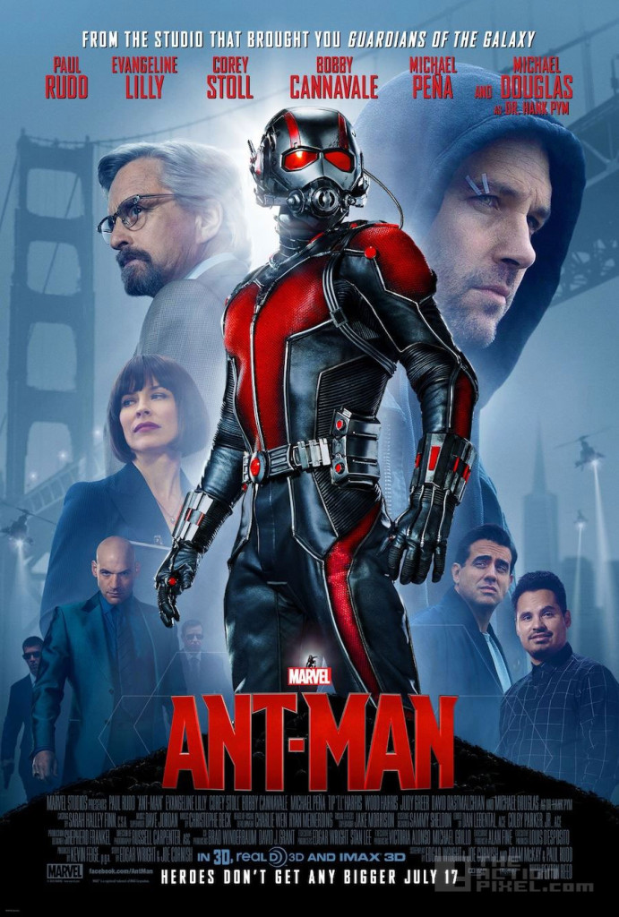 ant man poster. marvel. the action pixel @theactionpixel
