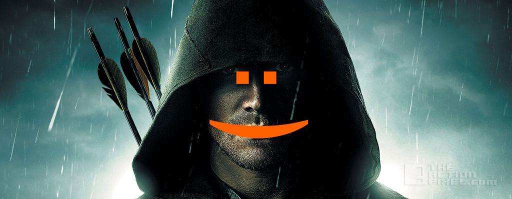 arrow Happy. the action pixel. @theactionpixel