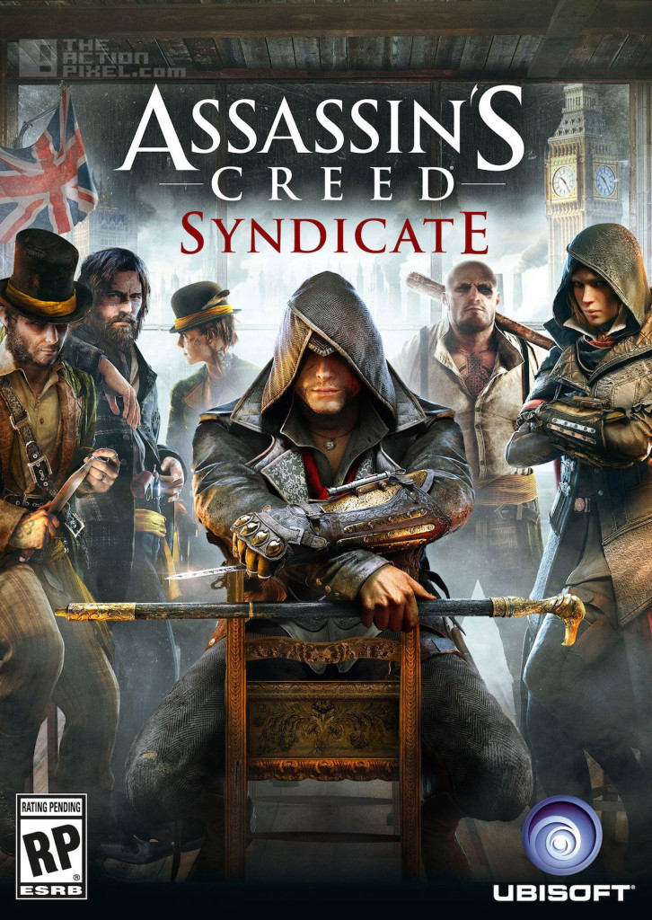 assassins creed syndicate cover. assassin's creed syndicate. the action pixel. @theactionpixel. ubisoft