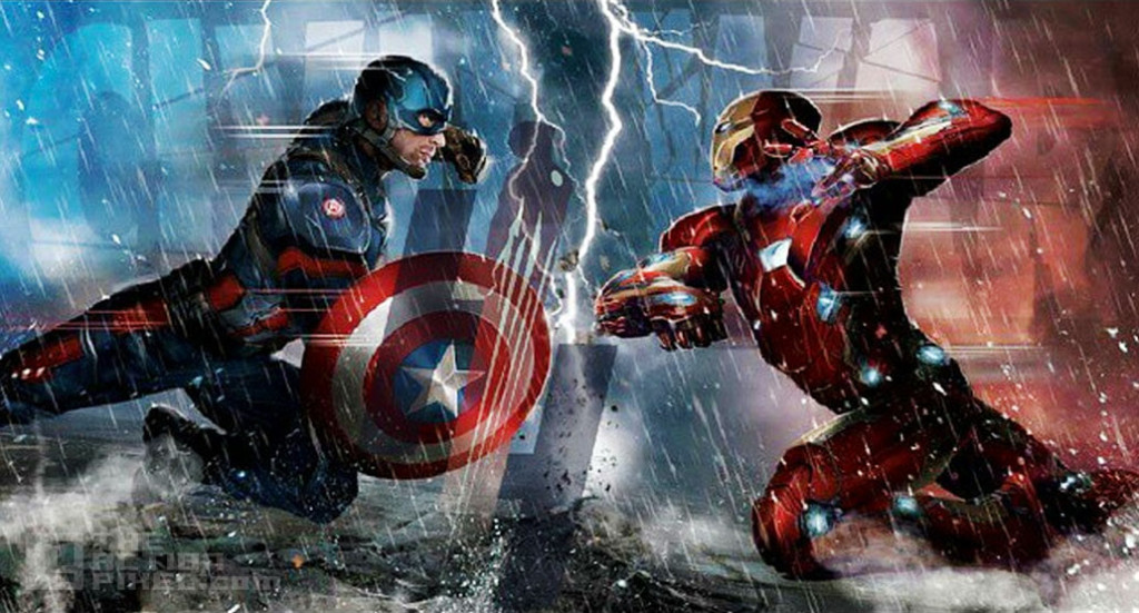 civil war. captain america 3. iron man. The action pixel @theactionpixel