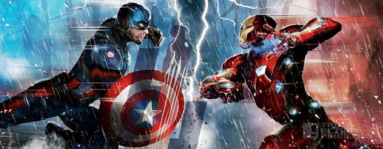 civil war. captain america 3. iron man. The action pixel @theactionpixel