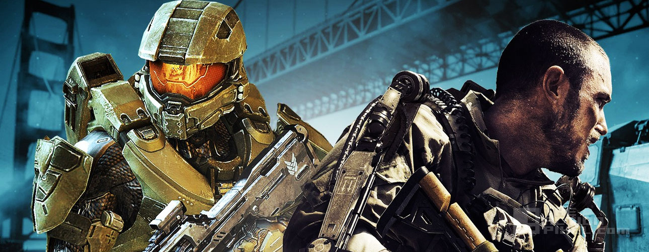 call of duty vs Halo master chief. entertainment on tap. the action pixel @theactionpixel