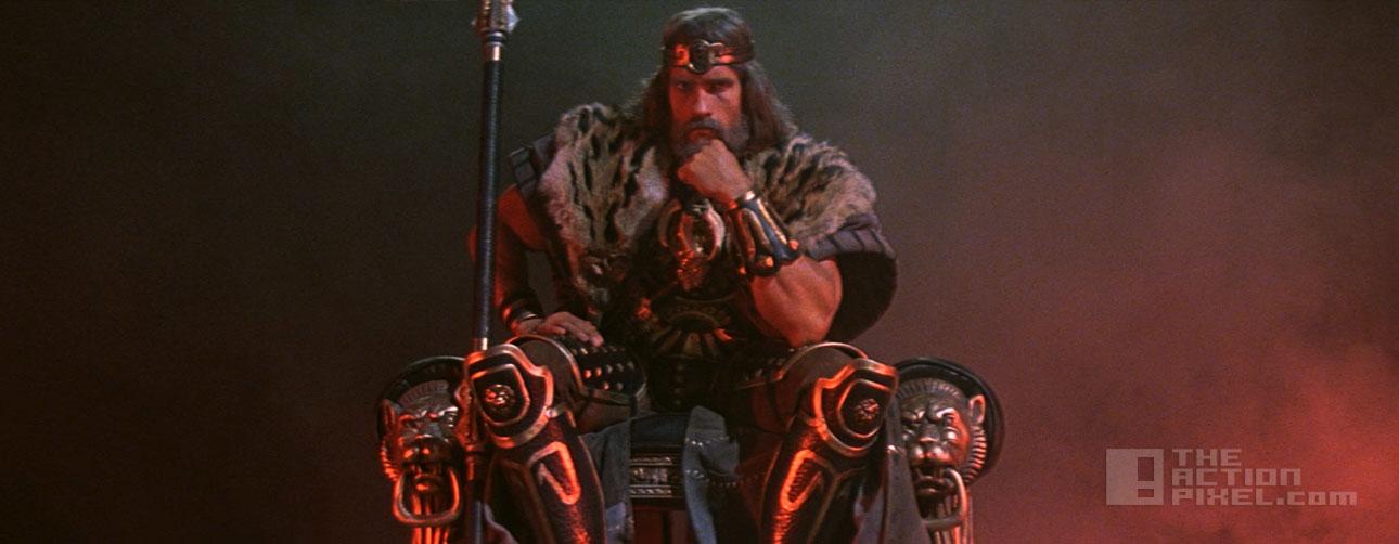 Legend Of Conan , the sequel to 1982's Conan The Barbarian , set to ... Conan The Destroyer Throne