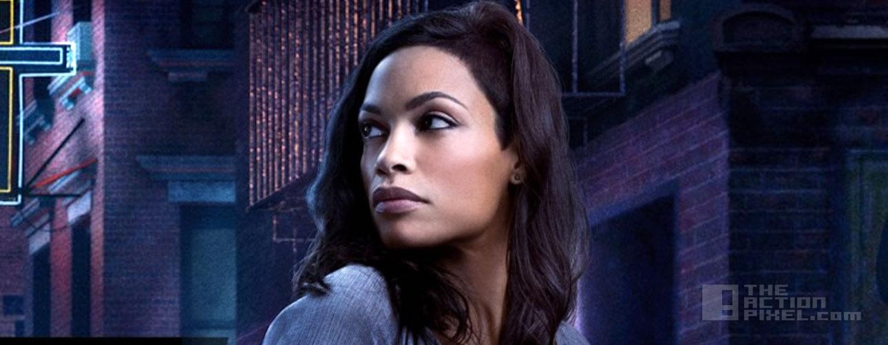 rosario dawson as claire Temple. netflix. marvel. Daredevil. the action pixel @theactionpixel