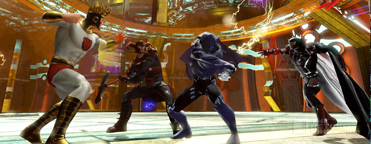 DC Universe halls of power part 2. dc comics, wb games. the action pixel. @theactionpixel