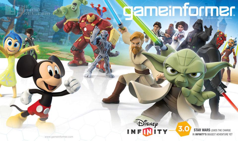 disney Infinity 3. disney. marvel. star wars. the action pixel. @theactionpixel