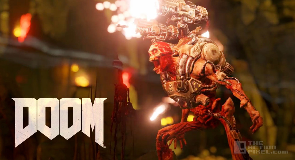 doom. bethesda softworks. the action pixel. @theactionpixel