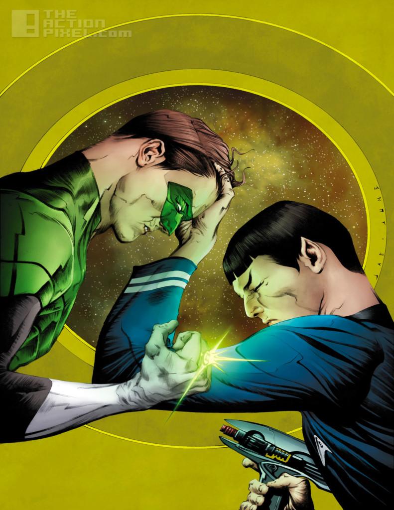 green lantern_sta trek spectrum war cover. the action pixel. @theactionpixel. DC Comics