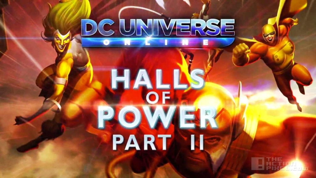 DC Universe halls of power part 2. dc comics, wb games. the action pixel. @theactionpixel