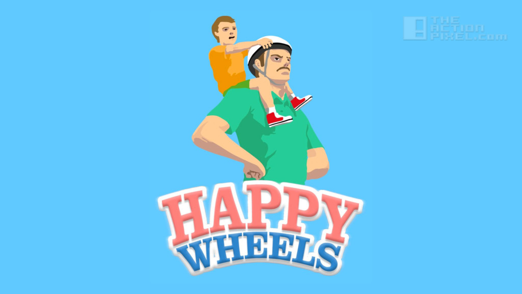 happy wheels. the action pixel. @theactionpixel.