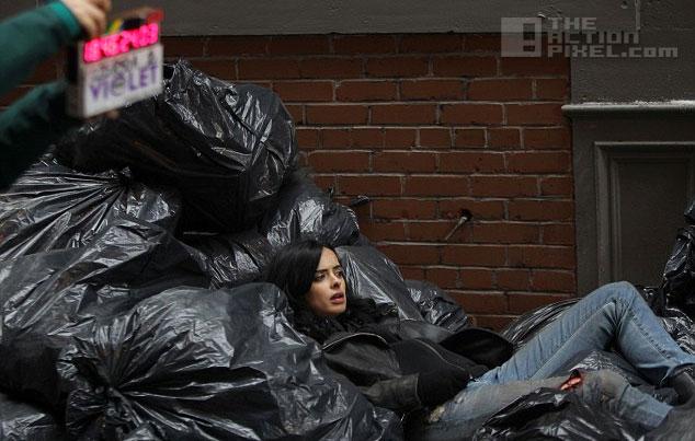 krysten ritter AKA Jessica Jones. the action pixel. @theactionpixel. marvel. netflix.