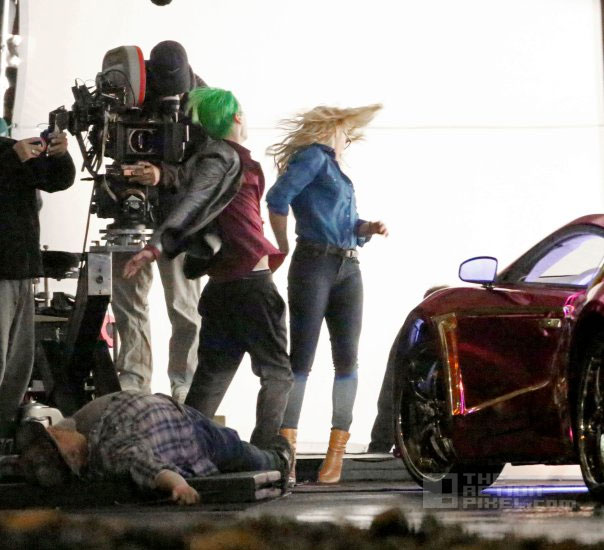 joker (jared leto) and Harley Quinn (Margot Robbie) in Suicide squad. Entertainment On tap. the action pixel. @theactionpixel