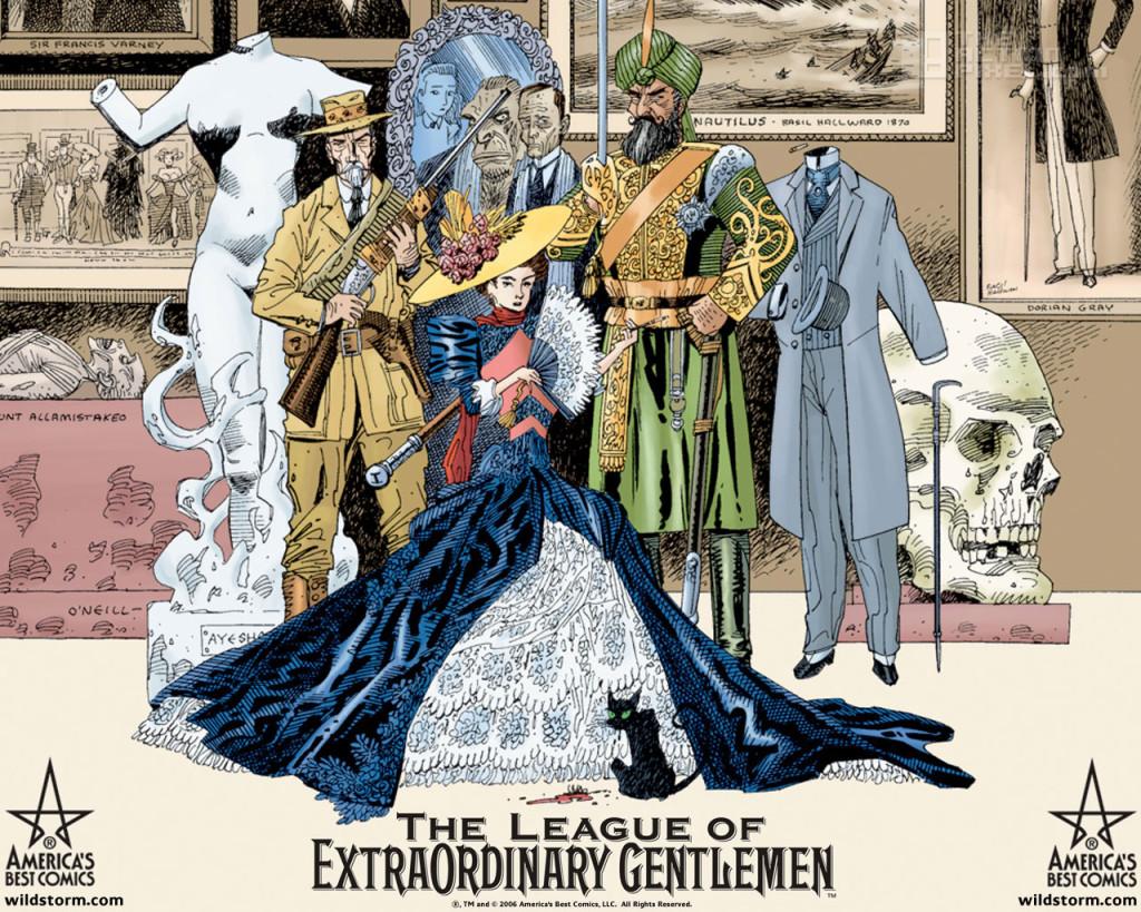 league of Extraordinay Gentlemen . the action pixel. @theactionpixel