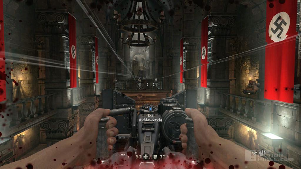 wolfenstein: old blood. part one. Bethesda Softworks. the action pixel. @theactionpixel