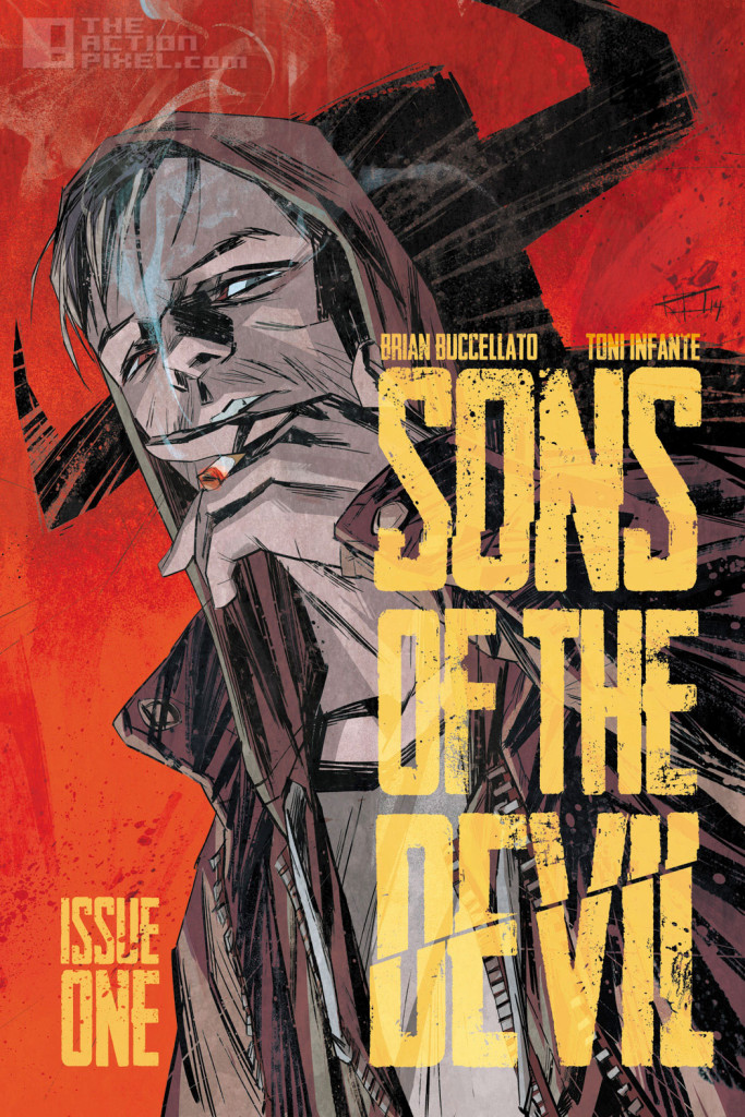 sons of the devil #1 cover. image comics. the action pixel. @theactionpixel