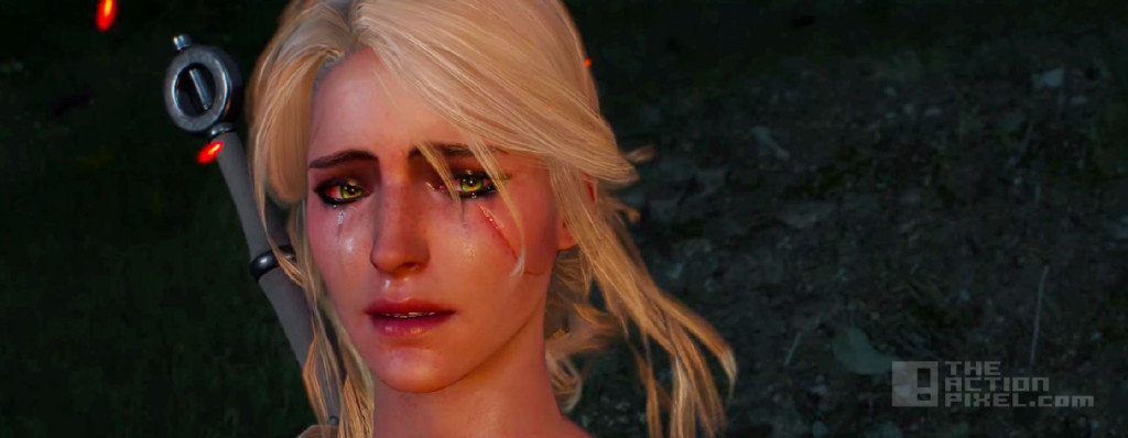 the witcher 3: wild hunt. ciri. the action pixel. @theactionpixel