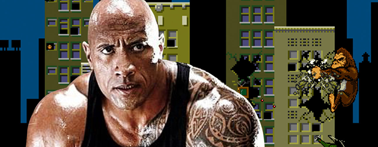 THE ROCK TO STAR IN RAMPAGE. rampage. THE ACTION PIXEL. @THEACTIONPIXEL