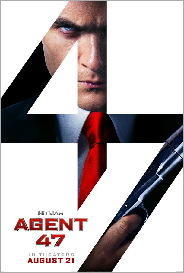 hitman: agent 47 poster.  the action pixel. @theactionpixel.  20th century fox