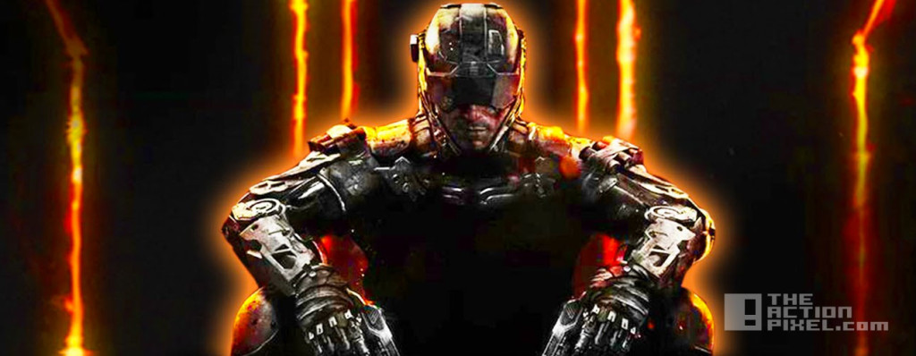call of duty black ops 3. treyarch. activision. e3. the action pixel. @theactionpixel