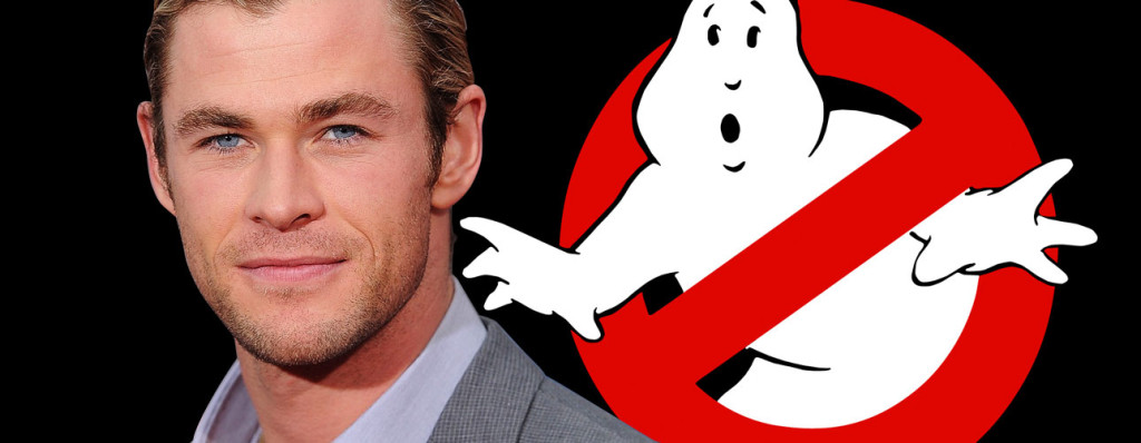 chris hemsworth ghostbusters. the action pixel. @theactionpixel