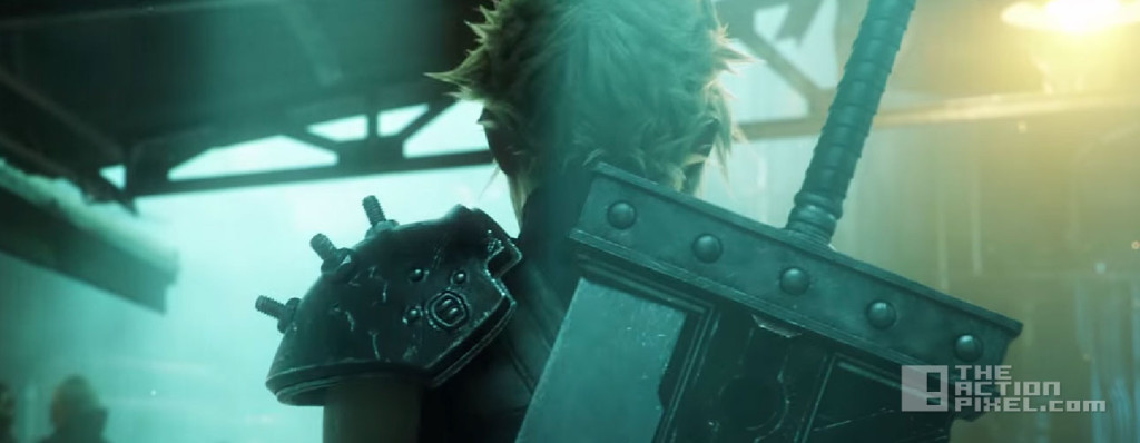 final fantasy VII remake. Square Enix. the action pixel. @theactionpixel