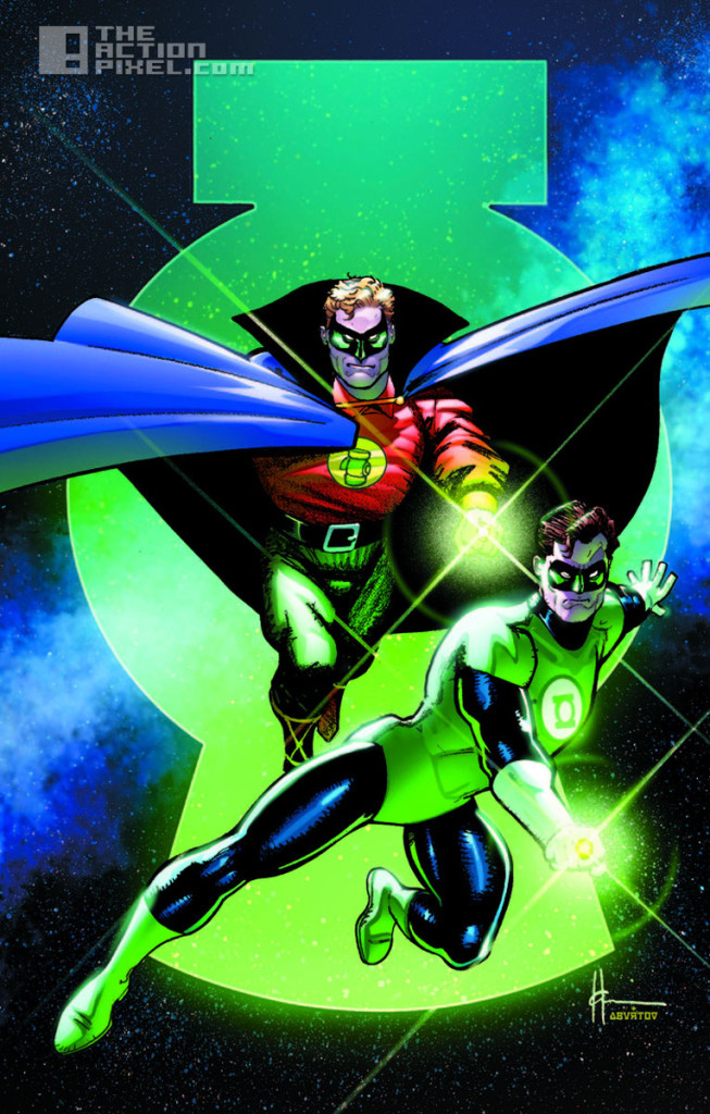 green lantern variant covers. the action pixel. @theactionpixel. dc comics. 75th anniversary of the green lantern