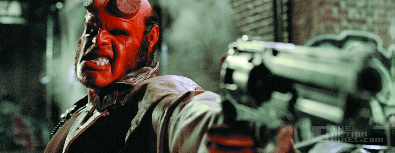 hellboy. Guillermo del Toro . ron perlman. the action pixel. @theactionpixel.