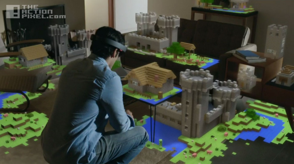 hololens Minecraft. the action pixel. @theactionpixel