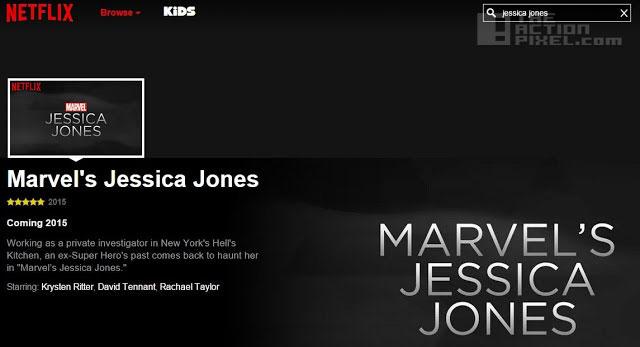 jessica jones. Netflix. Marvel. the action pixel. @theactionpixel
