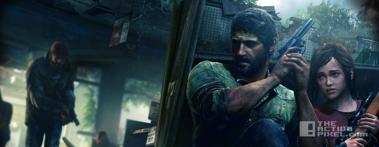 last of us. the action pixel. @theactionpixel, naughty dog