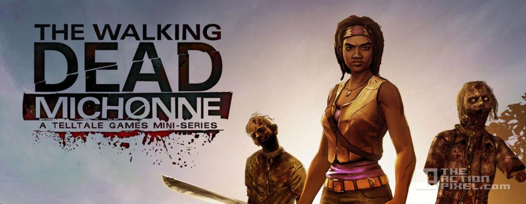 the walking dead michonne. telltale games. michonne. the walking dead. the action pixel. @theactionpixel