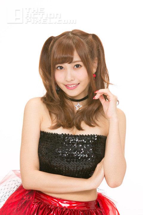 Popular photo idol Hinako Sano as misa. death note, the action pixel