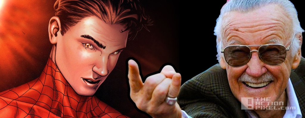 peter parker Stan lee. marvel. the action pixel. @theactionpixel