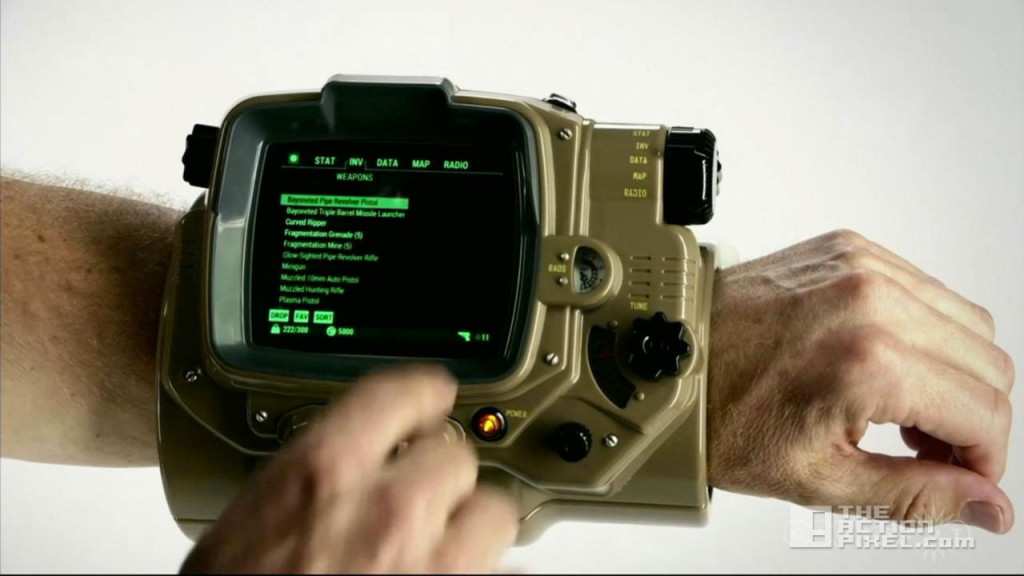 pipboy. fallout 4. the action pixel. @theactionpixel. bethesda softworks