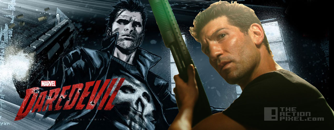 jon bernthal is the punisher in daredevil. the action pixel @theactionpixel. marvel. netflix
