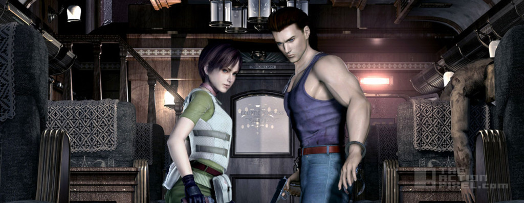 resident evil 0 hd remastered. capcom. the action pixel. @theactionpixel