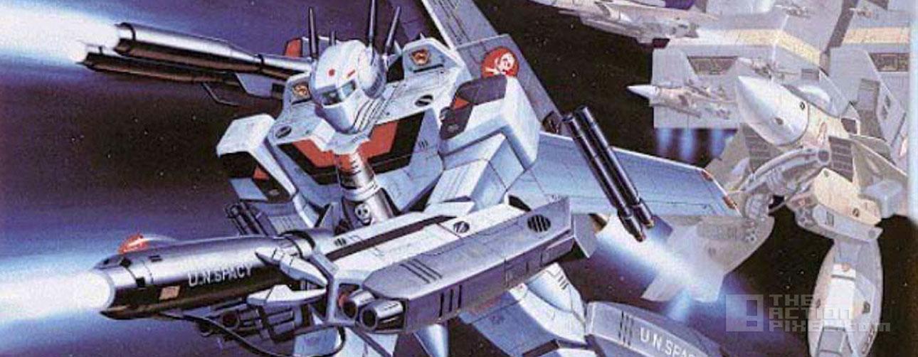 robotech. anime. the action pixel. @theactionpixel