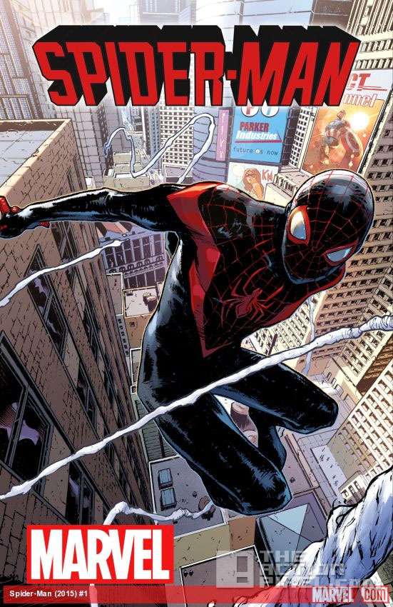 spider-man cover. miles morales. Marvel. the action pixel. @theactionpixel