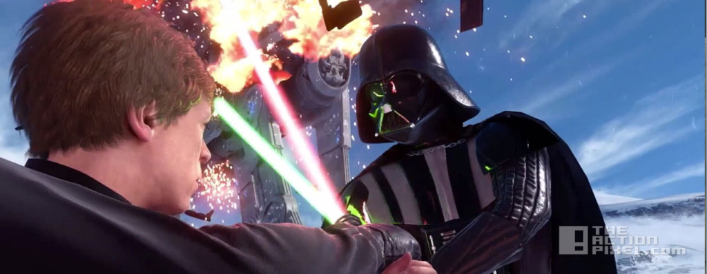 star wars battlefront. the action pixel. @theactionpixel. ea.dice.