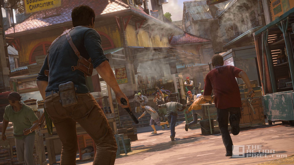 uncharted 4. naughty dog. the action pixel. @theactionpixel