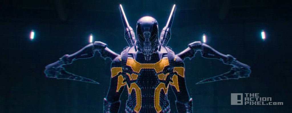 yellowjacket. marvel. ant-man. the action pixel. @theactionpixel