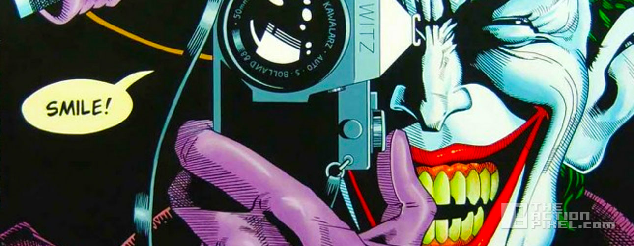 batman the killing joke. the action pixel. @theactionpixel. dc comics