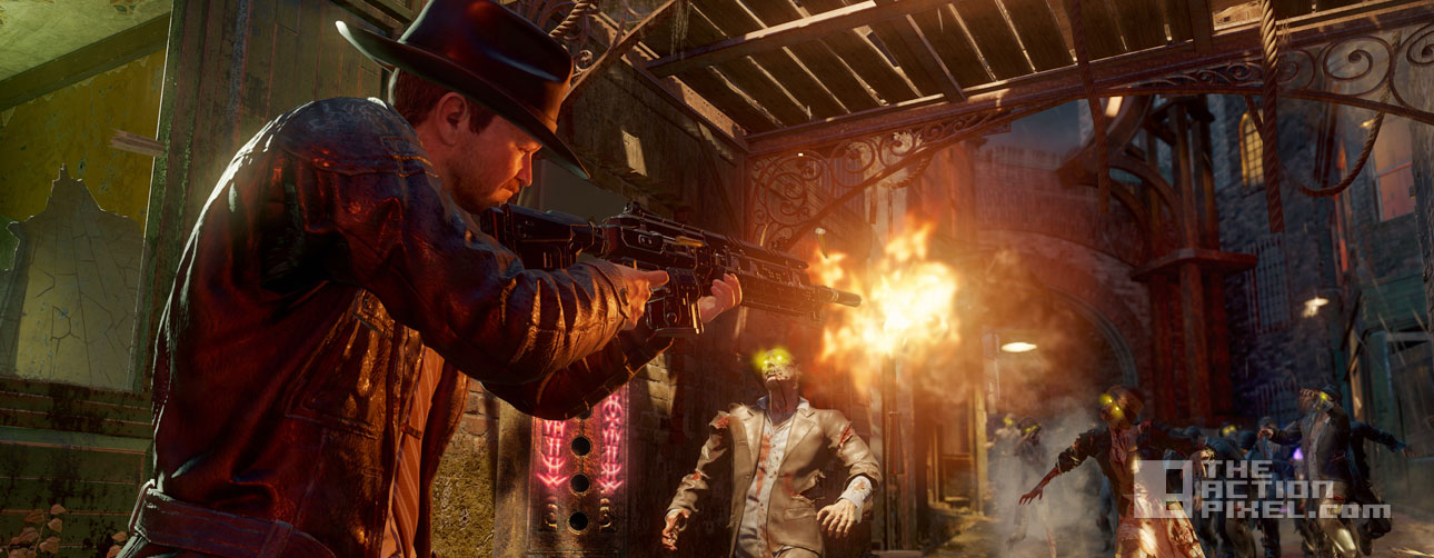 call of duty black ops 3 zombies shadows of evil. the action pixel. @theactionpixel. treyarch