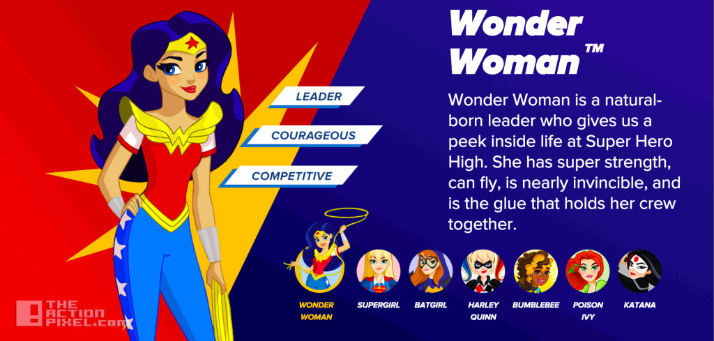dc super hero girls Wonder Woman. the action pixel. @theactionpixel. DC Comics