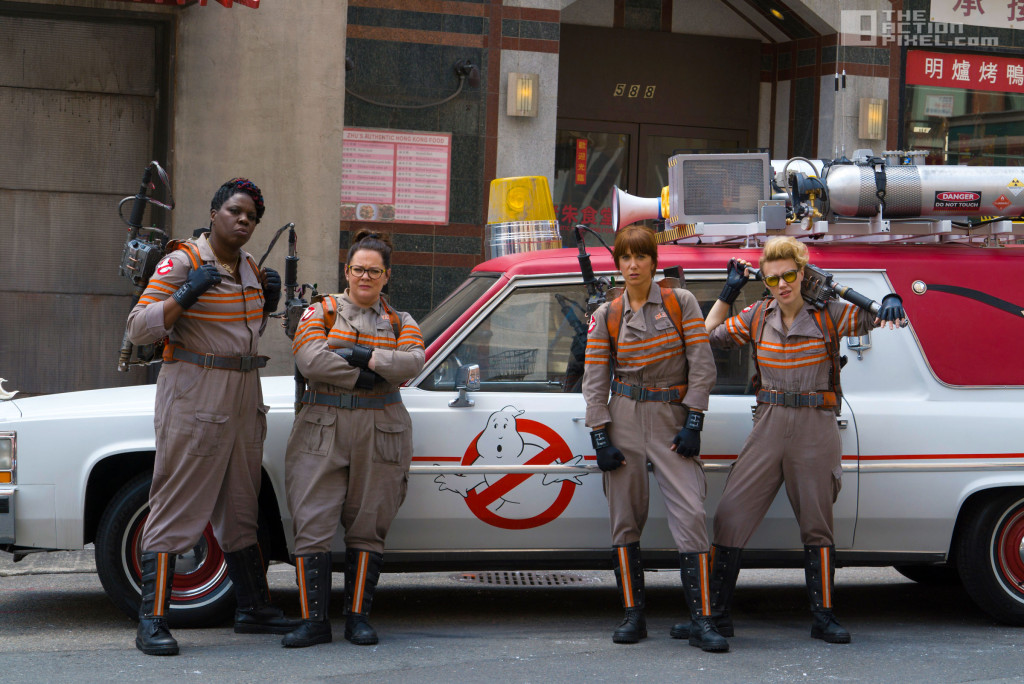 ghostbusters. paul feig. the action pixel. @theactionnpixel