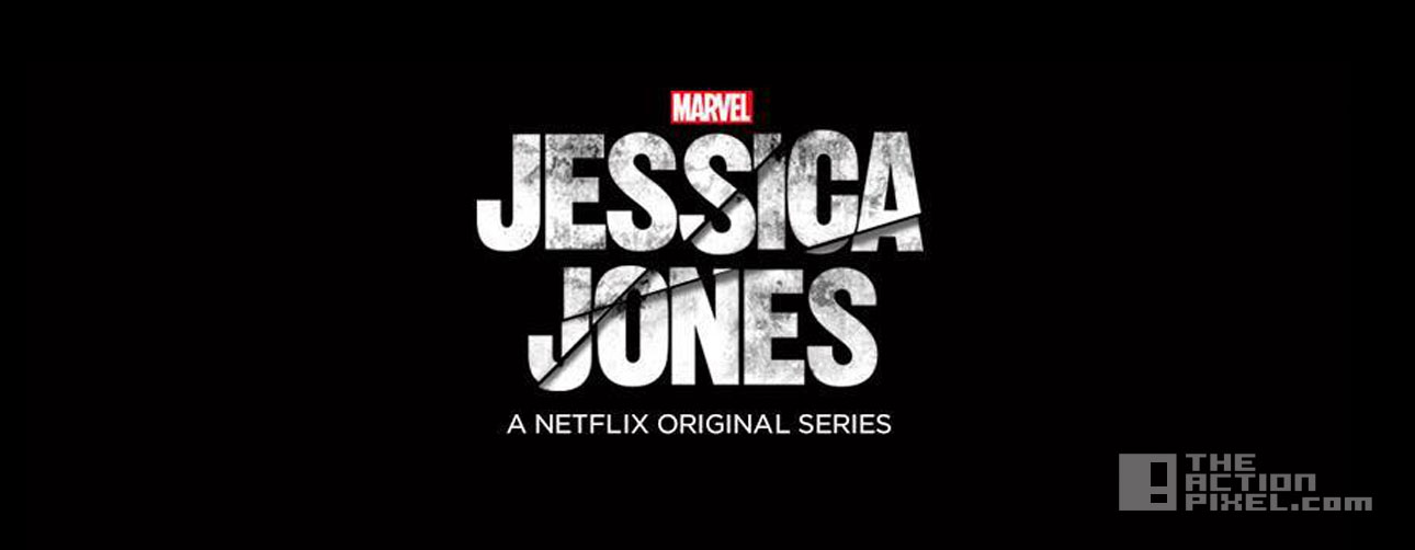 jessica jones logo. the action pixel. marvel. netflix. @theactionpixel.