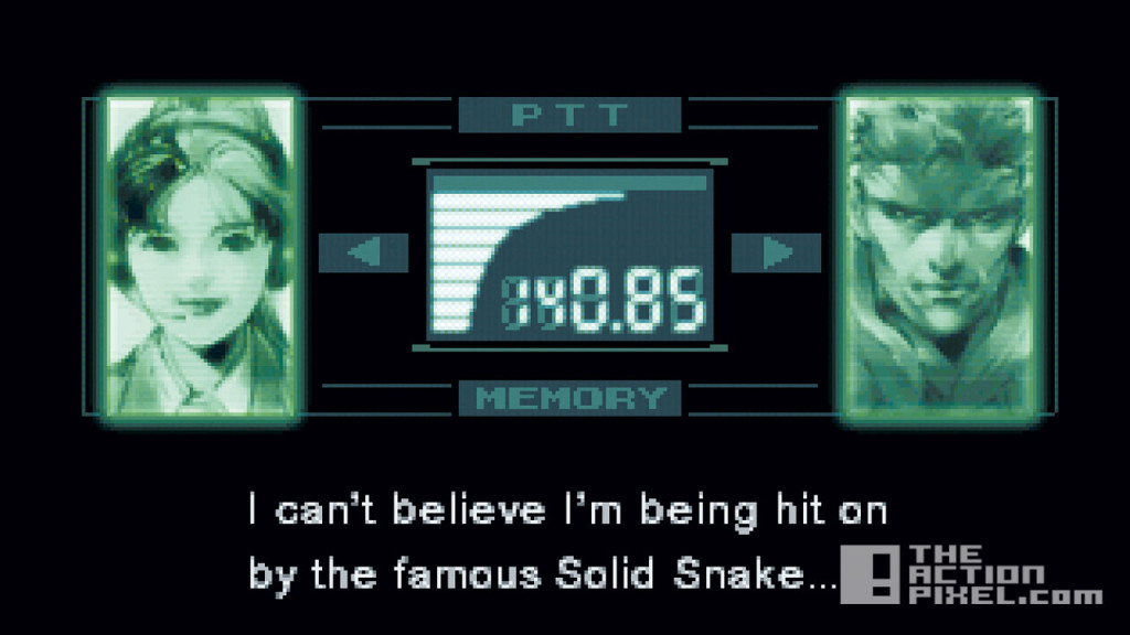 metal gear solid codec. konami. the action pixel. @theactionpixel