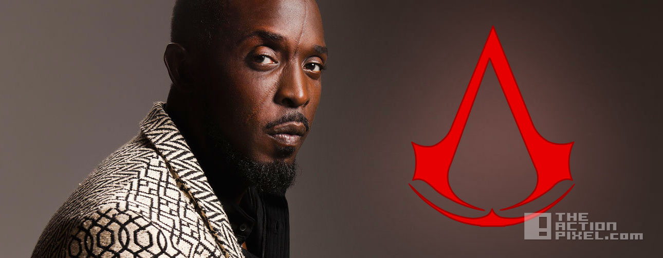 michael k williams Assassins Creed. the action pixel. @theactionpixel